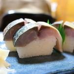 Suehiro - 分厚い鯖寿司