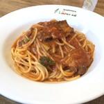 Liberta - 料理写真:白金豚のポテンツァ風ラグーソース