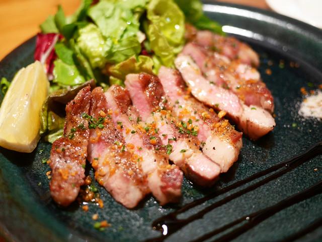 君想ふ暮らし - イベリコ豚の炭火ステーキ ¥980