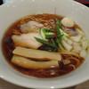 実垂穂 - 料理写真:無添加魚介出汁の中華そば 醤油