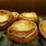 粉とクリーム - 料理写真:クリームチーズのデニッシュ。