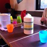 ジャンク カフェ トーキョー - テーブルの上