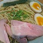 竹麺亭 - 魚介醤油つけ麺♪