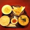 たかをや - 料理写真:とり天&だんご汁セット