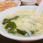 四川飯店 - スープ