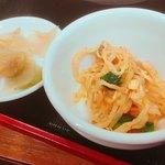 四川飯店 - 定食のセット豆もやし