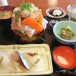 千代寿司 - 料理写真:こだわりAセット1,500円プラスシャリ大盛200円