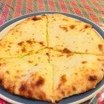 スンニマ - 枝豆チーズナンのアップ。