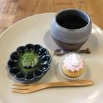マーマー コーヒー 京都 - コーヒーとマシュフォンのセット
