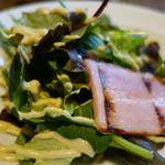 78098679 - 有機野菜とポーチドエッグのシーザーサラダ
