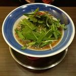 麺作ブタシャモジ - もつニラソバ820円