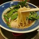 麺作ブタシャモジ - 麺カタ(もつニラソバ)