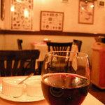 IL CAVALLO - ここで赤ワインへ