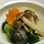 すし波奈 - かぶと茄子の蒸し物