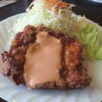 7810788 - チキンナンバン定食750円