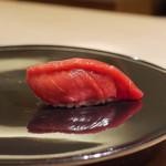 寿しの吉乃 - 料理写真:大間まぐろ血合いぎし