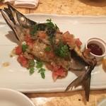 伊東の魚とワインの店 イトウバル - 鯖のハーブオイル焼き