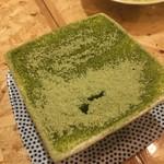 伊東の魚とワインの店 イトウバル - 静岡産グリ茶のティラミス