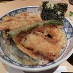 どんぶり丸福 - 天丼梅650円