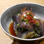 wasabi - お通しはナスの煮びたし
