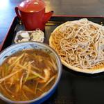 さんた亭 - 料理写真:鴨汁そば大盛り900円