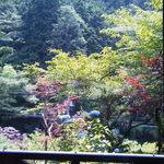 生涯青春の湯 つるつる温泉 お食事処 - 外の景色もとても素晴らしい