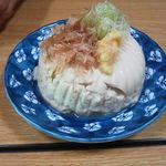 生涯青春の湯 つるつる温泉 お食事処 - これが名物「つるつる豆腐」