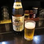 麺屋 燕 - ビール中瓶