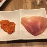 プラチナフィッシュ クラフトビアバル - 前菜2種