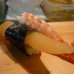 7811367 - 上にぎり寿司(かずのこ、海老)