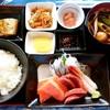 釧ちゃん食堂 - 料理写真:釧ちゃん食堂@釧路 刺身定食(1350円)