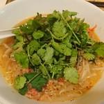 タイかぶれ食堂 - パクチー麺