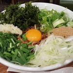UMAMI SOUP Noodles 虹ソラ - 「虹式台湾混ぜソバ」(2017年12月16日)