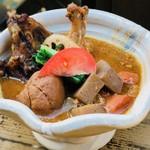 森の中のお肉レストラン アースガーデン - プレミアム豚汁(冬季限定)