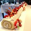 ベラヴィスタ - 料理写真:ロングロールケーキ(クリスマスバージョン)