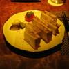 バー レガシー - 料理写真:「昔ながらのハムカツサンド」です。