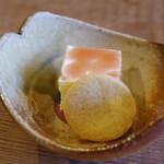 徳山鮓 - 鮒鮓の飯のアイス