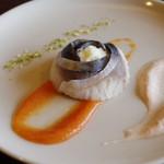 徳山鮓 - 鯖のナレズシ