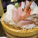 78118512 - コース料理(おまかせ人情コース・雪)(3500円)の お造り
