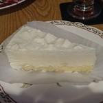 コーヒー ハウス サンヨー - レアチーズケーキ