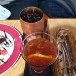 コーヒー ハウス サンヨー - アイスコーヒー、アイスティー