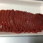 肉のささき - 熊本産馬刺し赤身