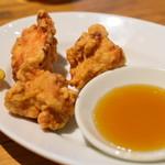 自家製パスタ洋食堂 マルブン - 鶏天