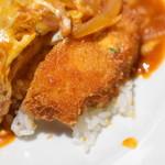 自家製パスタ洋食堂 マルブン - チキンカツのアップ