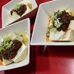 曽筵 - 肉味噌と辣油と山椒の相性バッチリ