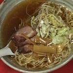 曽筵 - 中華そば       一口食べたが変わった味