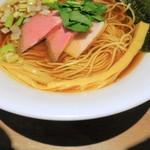 麺や まつ本 - 穂先メンマ