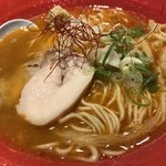 鶏白湯らーめん なかしま堂 - 料理写真:濃厚辛鶏白湯らーめん