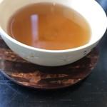 櫻川 - お口直しの塩番茶