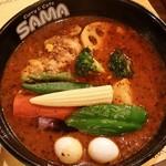 SAMA - チキン野菜カリー